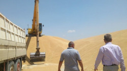Six vehicles loaded with smuggled wheat seized in Diyala and Saladin