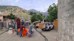 كوردستان.. نزوح 300 عائلة من قراهم خلال شهر بسبب العمليات المسلحة التركية