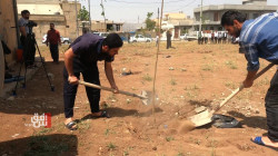 A tree for every Covid-19 victim in Haji Awa, Al-Sulaymaniya