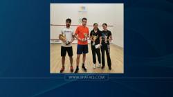العراق يحرز ذهبية بطولة البرلوسي الدولية للاسكواش في مصر