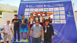 منتخب العراق أولا في بطولة العرب بالثلاثي