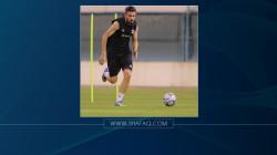 كورونا يقصي علي فائز عن مباريات العراق في التصفيات الآسيوية