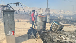 Another fire breaks out in the Sharya camp