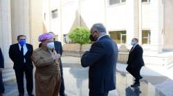 Al-Kadhimi, Barzani agree on protecting the borders