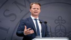 وزير الخارجية الدنماركي يصل إلى بغداد