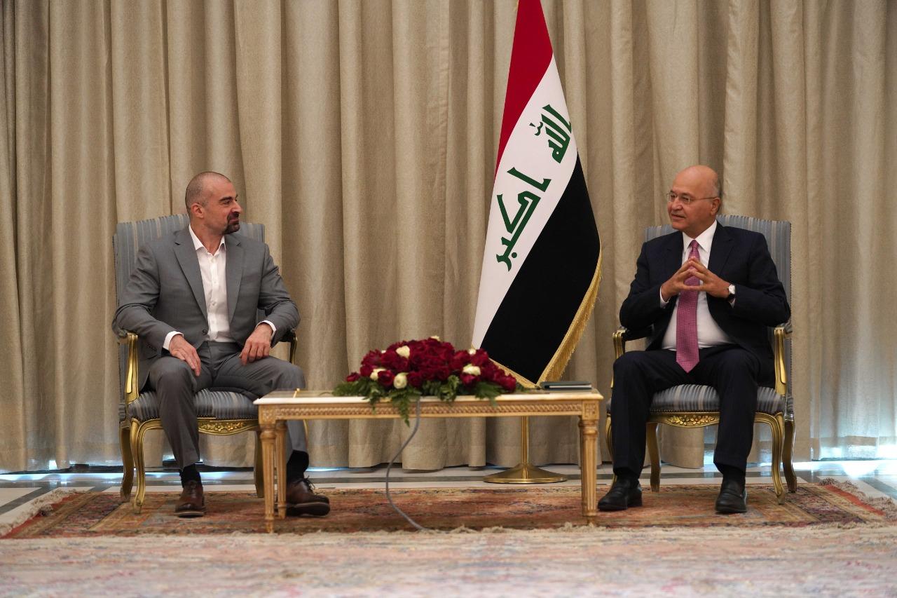 صالح وطالباني يؤكدان على اعتماد الدستور والقانون لحل المسائل العالقة بين أربيل وبغداد