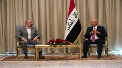 President Salih discusses with Talabani several issues of mutual interest