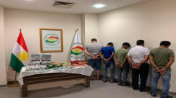 Five arrested, and a huge amount of drugs seized in Erbil