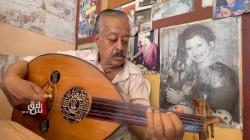مولع بالتلحين العربي والموسيقى الكوردية.. قصة صانع العود نجاح البغدادي