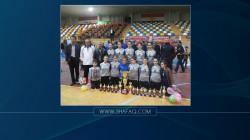السليمانية تحتضن بطولة اندية النساء للكرة الطائرة