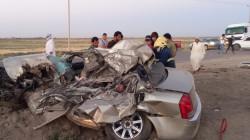 مصرع وإصابة 9 مواطنين بحوادث سير في محافظتين