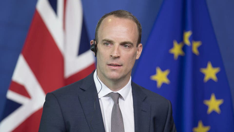 The British Foreign Minister arrives in Erbil in an official visit