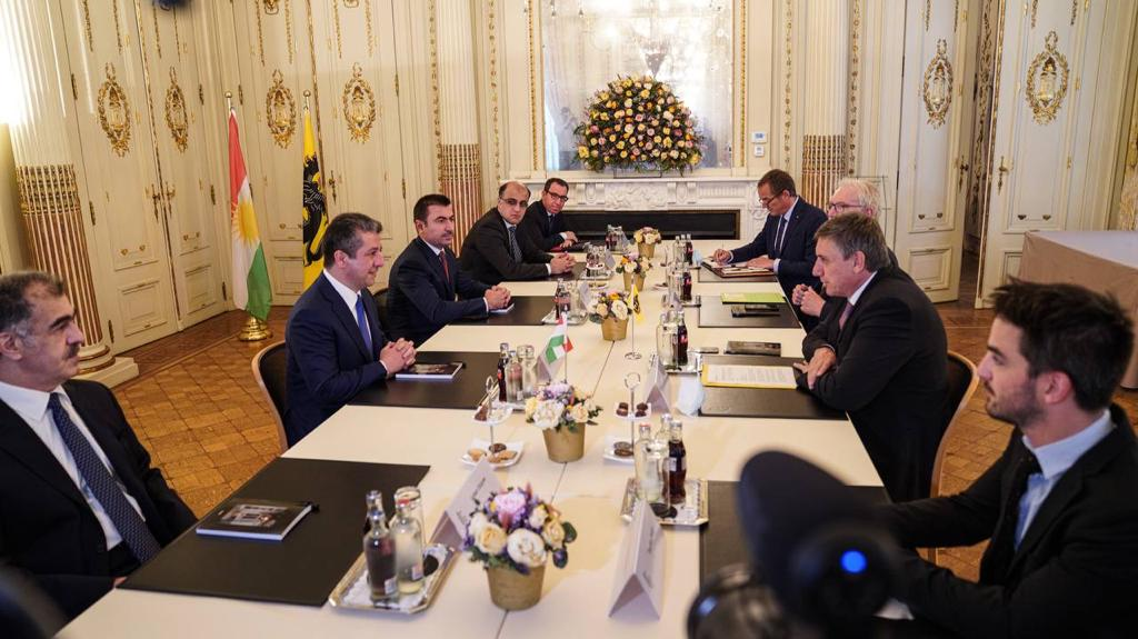 PM Barzani meets Minister-President of Flanders in Brussels