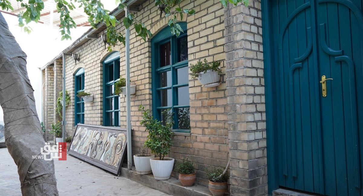 زامو.. أقدم بيت يتحول إلى قاعة للعرض الفني في السليمانية (صور)