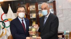 العراق يتطلع لتوقيع اتفاقية تعاون رياضي مع الصين