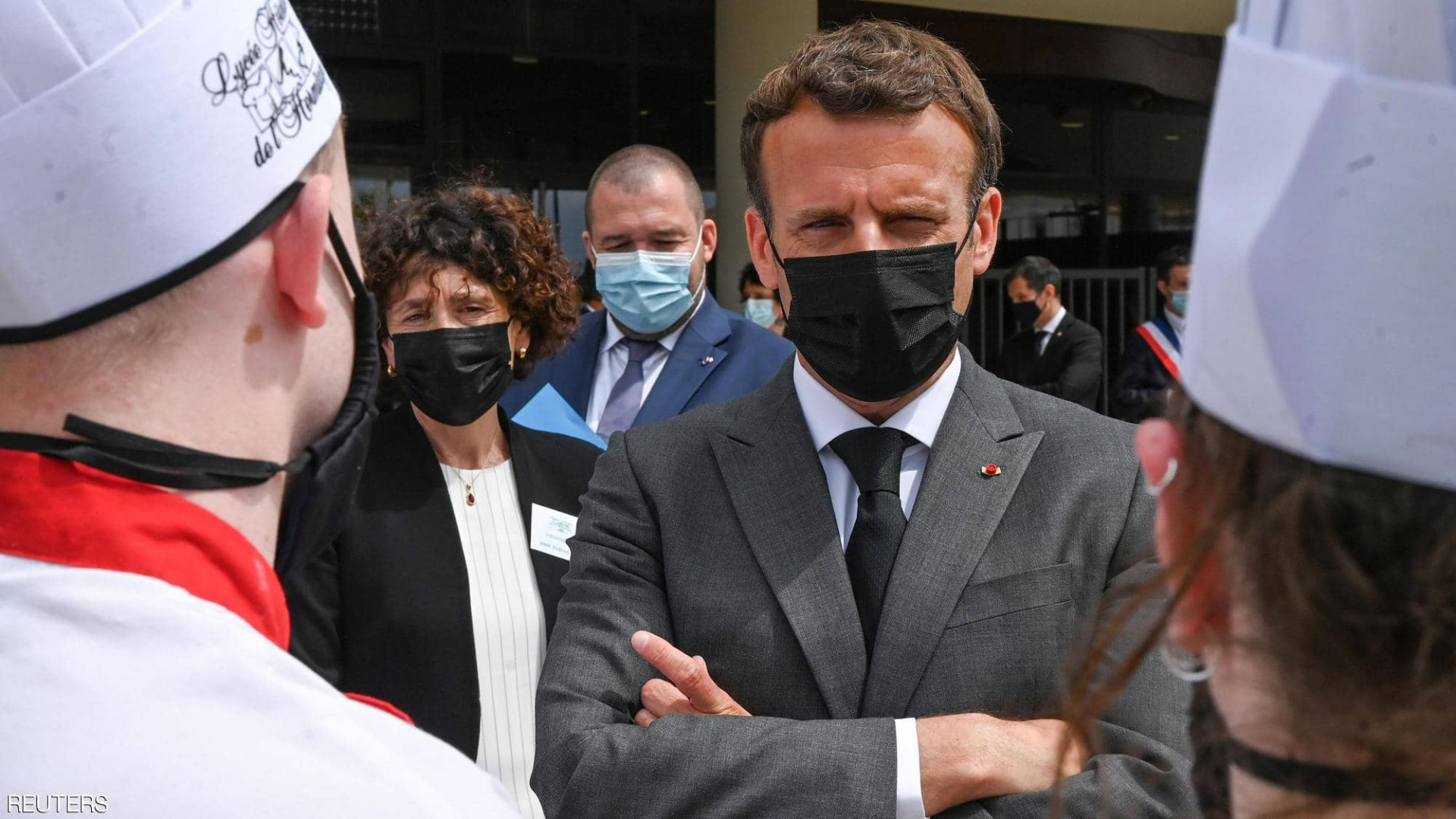 French Judiciary sentences the man who slapped Macron for imprisonment