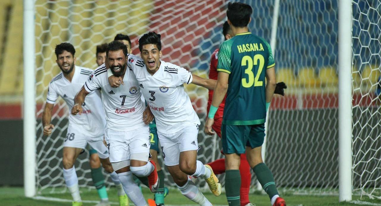 الزوراء يبلغ نهائي كأس العراق على حساب الشرطة