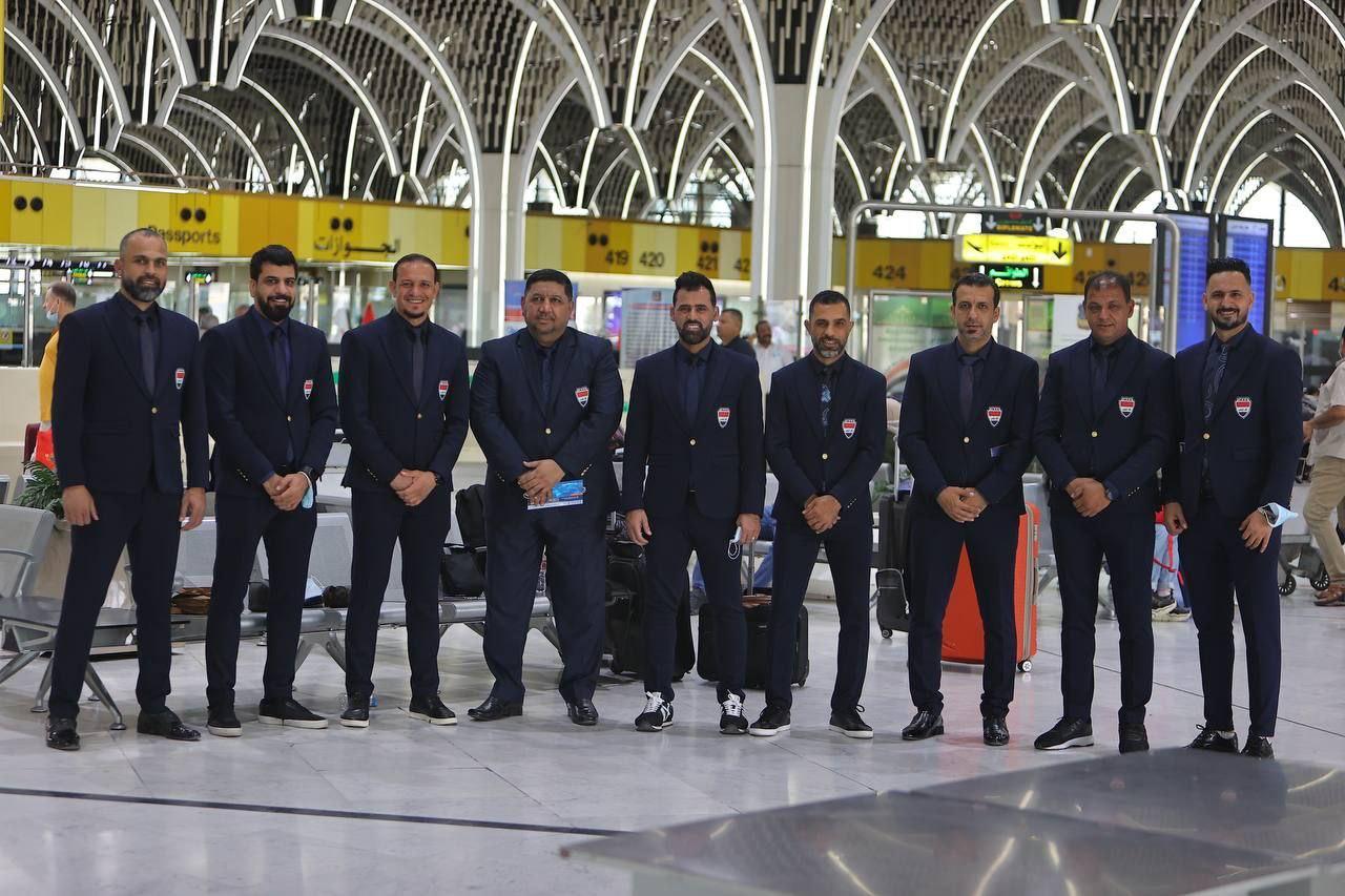 شباب العراق يغادر إلى مصر للمشاركة في البطولة العربية