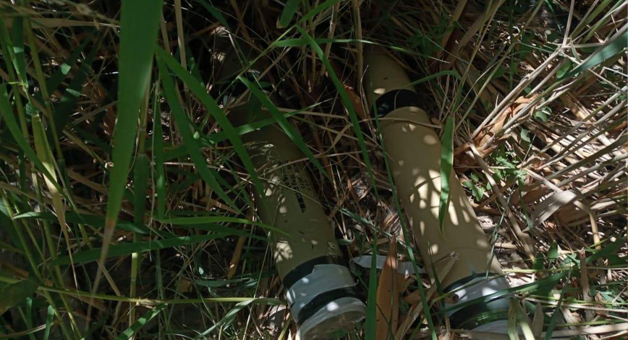 ضبط منصات صواريخ معدة لقصف قاعدة بلد الجوية .. صور