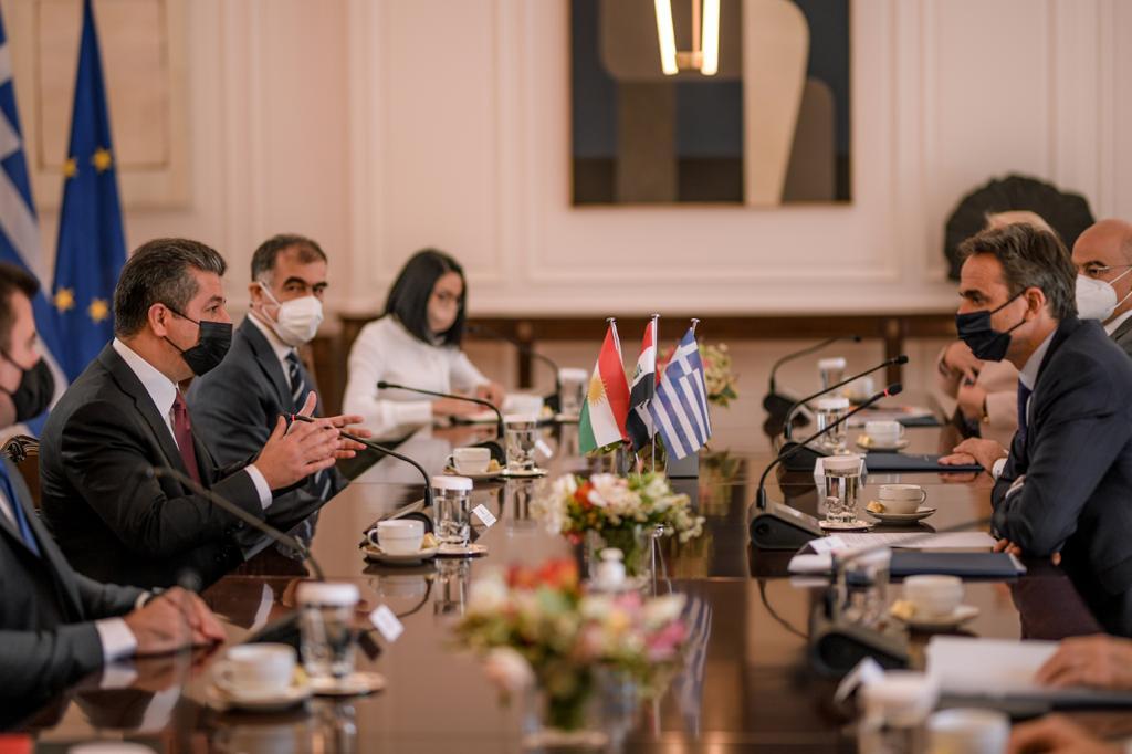 رئيس الوزراء اليوناني يزور العراق وإقليم كوردستان قريباً