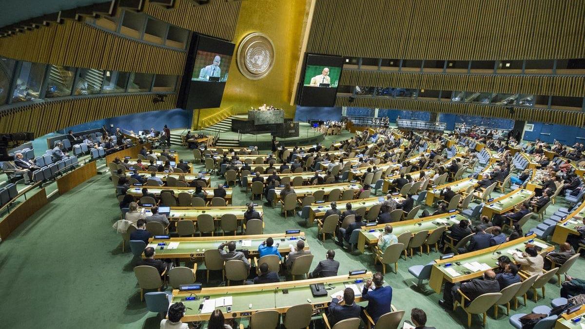 انتخاب دولة عربية خليجية عضواً في مجلس الأمن الدولي