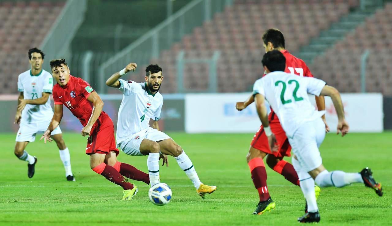(صور من المباراة) العراق يستعيد صدارة مجموعته بفوز صعب على هونغ كونغ