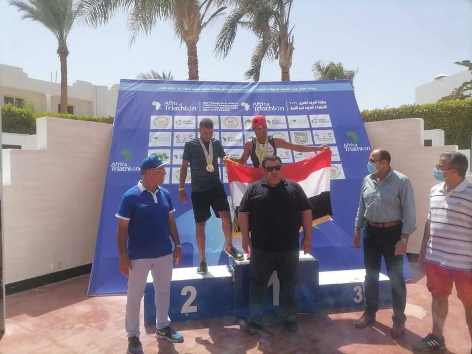 العراق يحقق وسامين في البطولة العربية الدولية المفتوحة بالثلاثي
