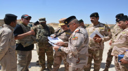 Security Forces launch a military operation south of Mosul