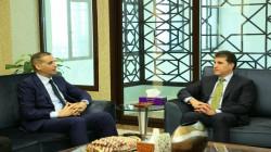 نيجيرفان بارزاني يزور السفارة العراقية في الإمارات