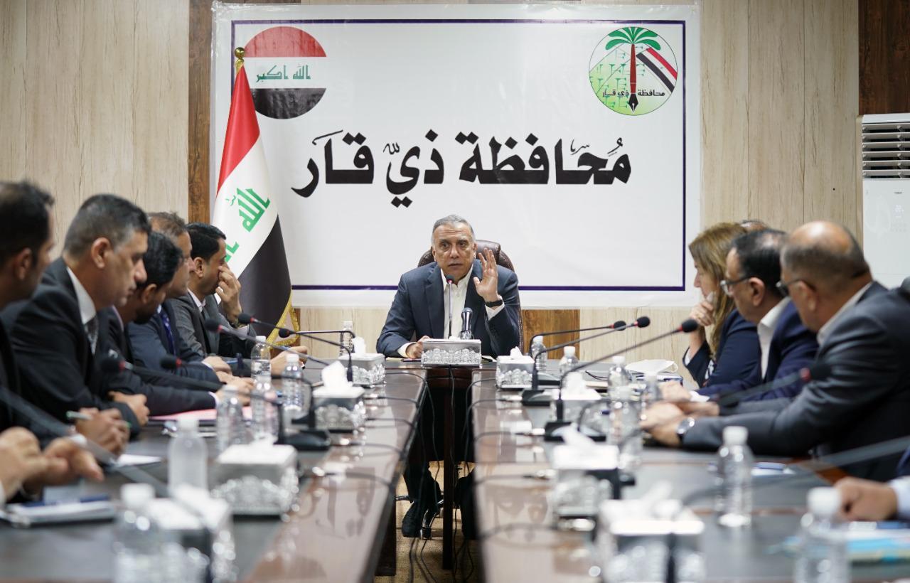 الكاظمي: الحكومة العراقية مكبلة بشكل كبير بسبب تقييد الموازنة المالية