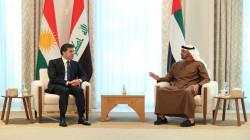 Kurdistan's President meets with Abu Dhabi Crown Prince Mohammed bin Zayed al-Nahyan