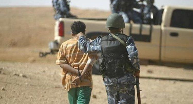 An ISIS terrorist arrested in South Baghdad