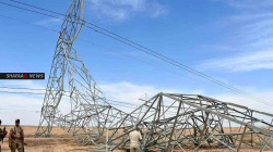 Six power transmission towers restored in Diyala, a source reveals