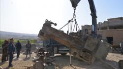 العثور على معمل لتصنيع العبوات والصواريخ في كركوك
