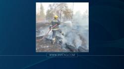 ثالث حريق في غابات الموصل خلال أقل من شهر
