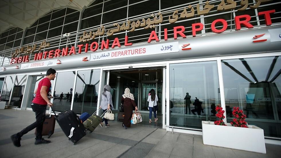 مدير مطار أربيل لشفق نيوز: الملاحة الجوية لم تتأثر نتيجة القصف