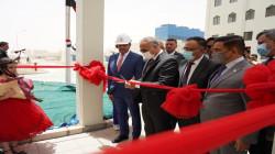 Iraq's Prime Minister Mustafa inaugurates the Samarra Steam Power plant