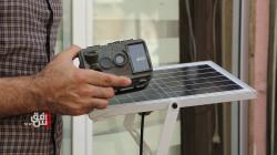 An Iraqi musician invents a solar powered surveillance camera