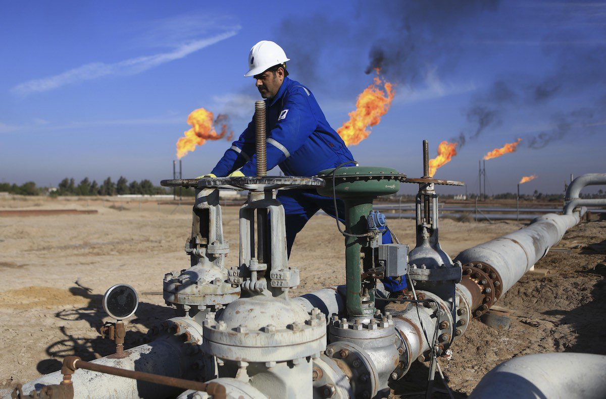 Iraq' oil exports to the United States increased in last week