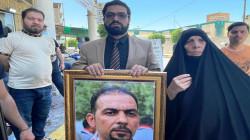 أمن كربلاء يمنع والدة إيهاب الوزني من نصب خيمة أمام المحكمة (فيديو)