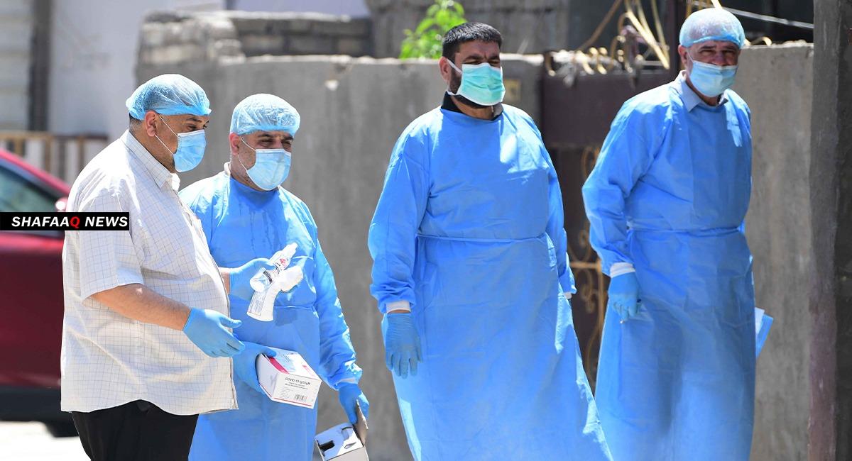 كورونا العراق: تسجيل أكثر من 4 آلاف اصابة و25 حالة وفاة