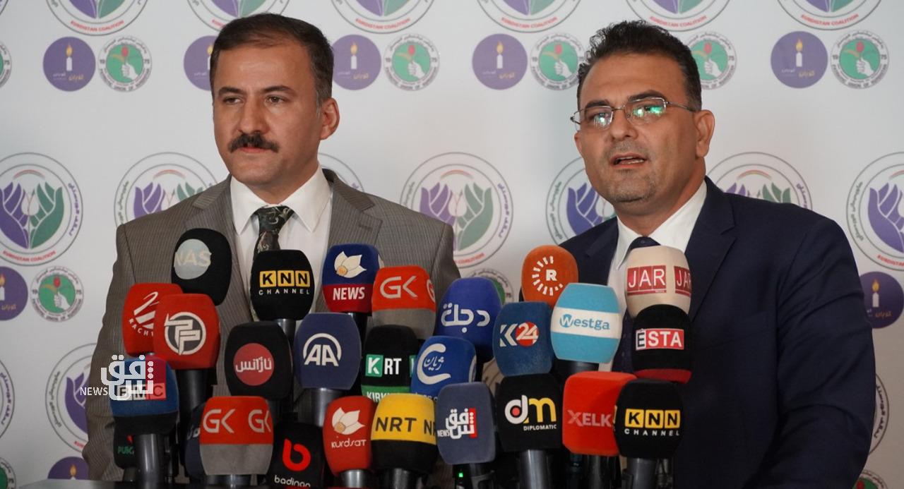 توقيع اتفاقية بين الاتحاد الوطني والتغيير على دخول الانتخابات العراقية بقائمة واحدة