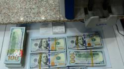 أسعار الدولار تنخفض في بغداد وتستقر في إقليم كوردستان