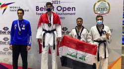 العراق ينال وساماً نحاسياً في بطولة لبنان الدولية بالتايكواندو