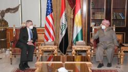 السفير الأمريكي لبارزاني: اقليم كوردستان نموذج للاستقرار والتنمية مقارنة مع باقي أجزاء العراق