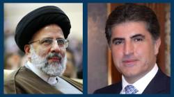 """رئيس إقليم كوردستان يهاتف """"رئيسي"""" ويهنئه بفوزه في الانتخابات الإيرانية"""