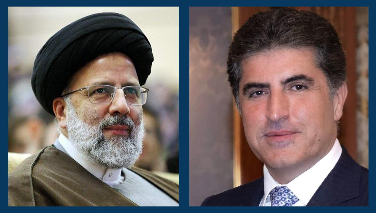 President Nechirvan Barzani congratulates Iran's President-elect Raisi