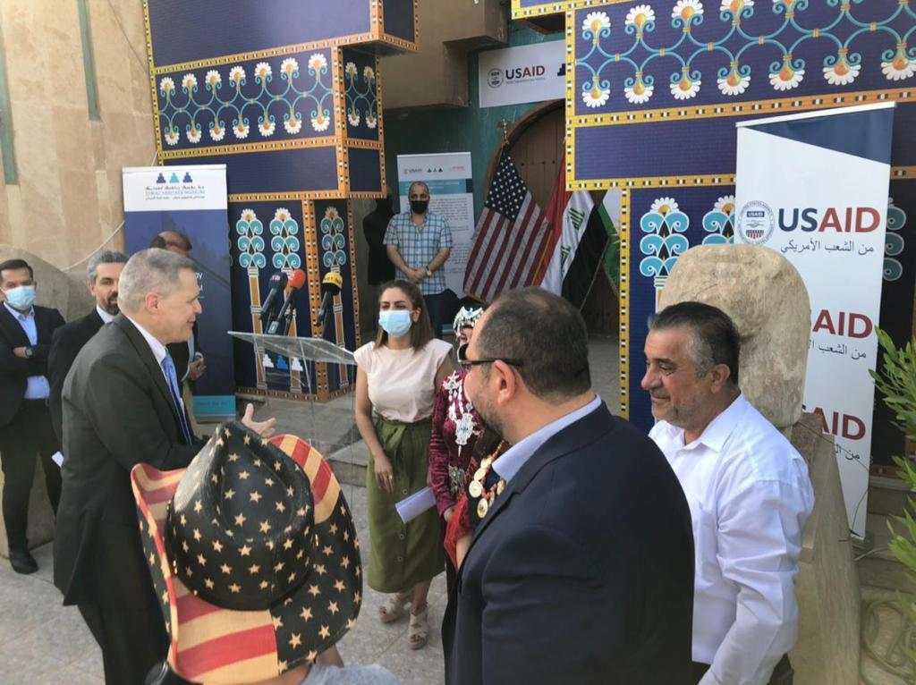 أمريكا تعلن مساعدات لمتحف التراث السرياني في أربيل
