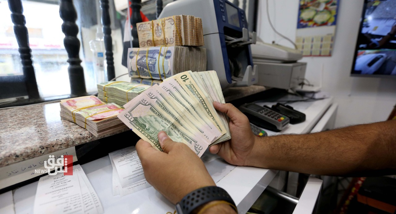 A slight increase in the exchange rates of the dollar in Baghdad