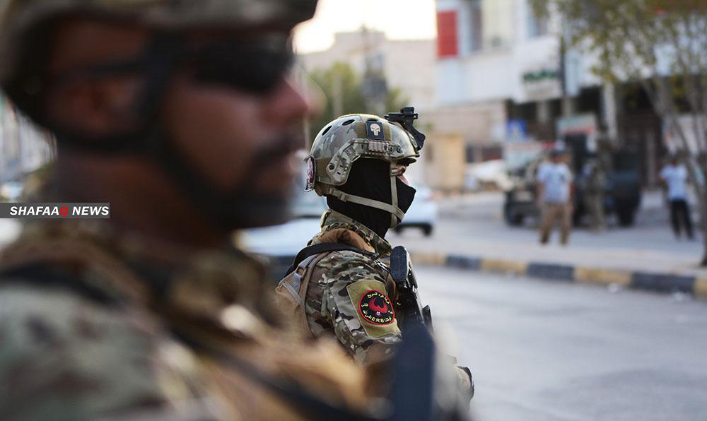 Five terrorists were arrested in Kirkuk